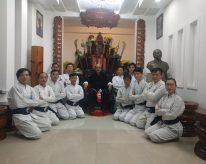 Lễ tham kiến Tổ Sư và lễ nhập môn cho các môn sinh huyền đai tam đẳng